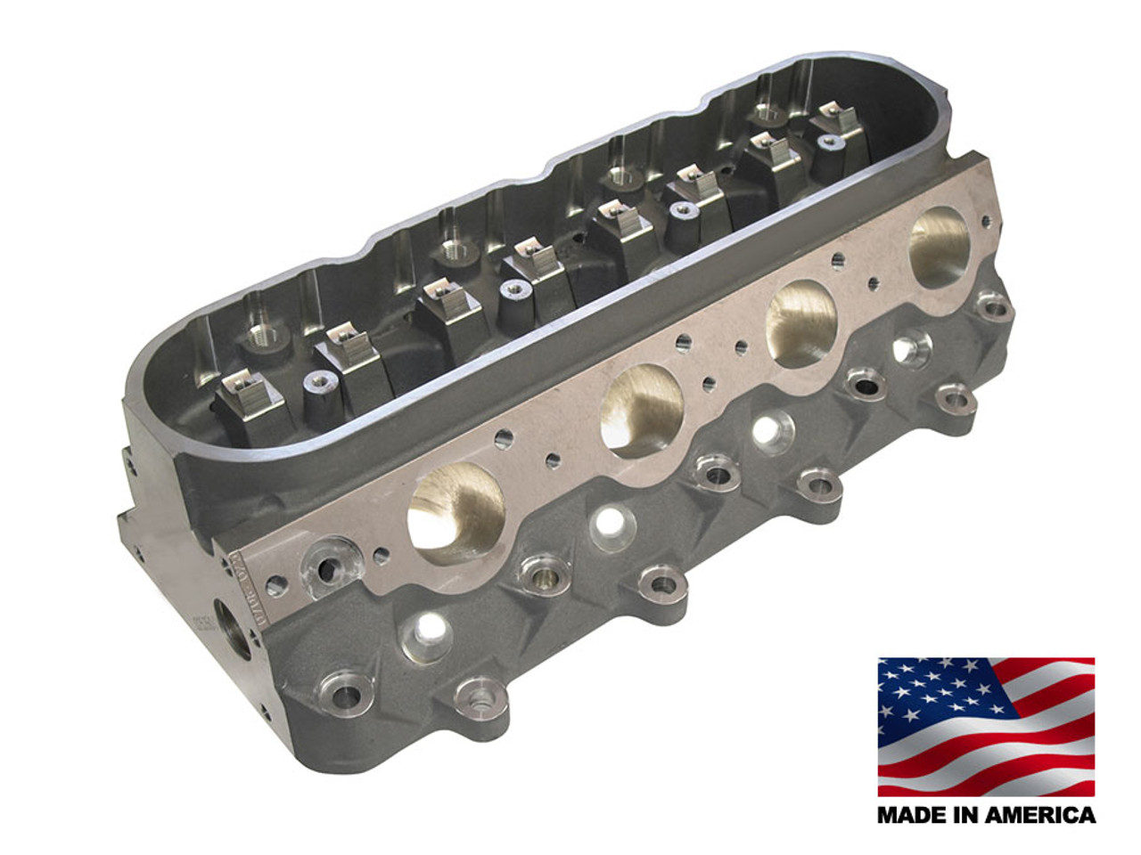 Bill Mitchell Products BMP 025350C - Cylinder Heads Aluminum Chevy LS7  296cc 64cc 12Degree 2 080