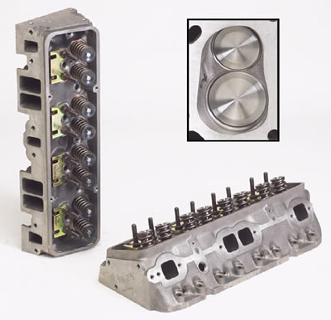 World Products 011150 - Cylinder Heads Cast Iron Chevy Small Block  SPORTSMAN II 200cc 64cc 23Degree 2 020