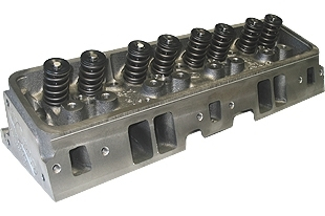 World Products 042660 - Cylinder Heads Cast Iron Chevy Small Block S/R  Torquer 170cc 67cc 23Degree 2 020