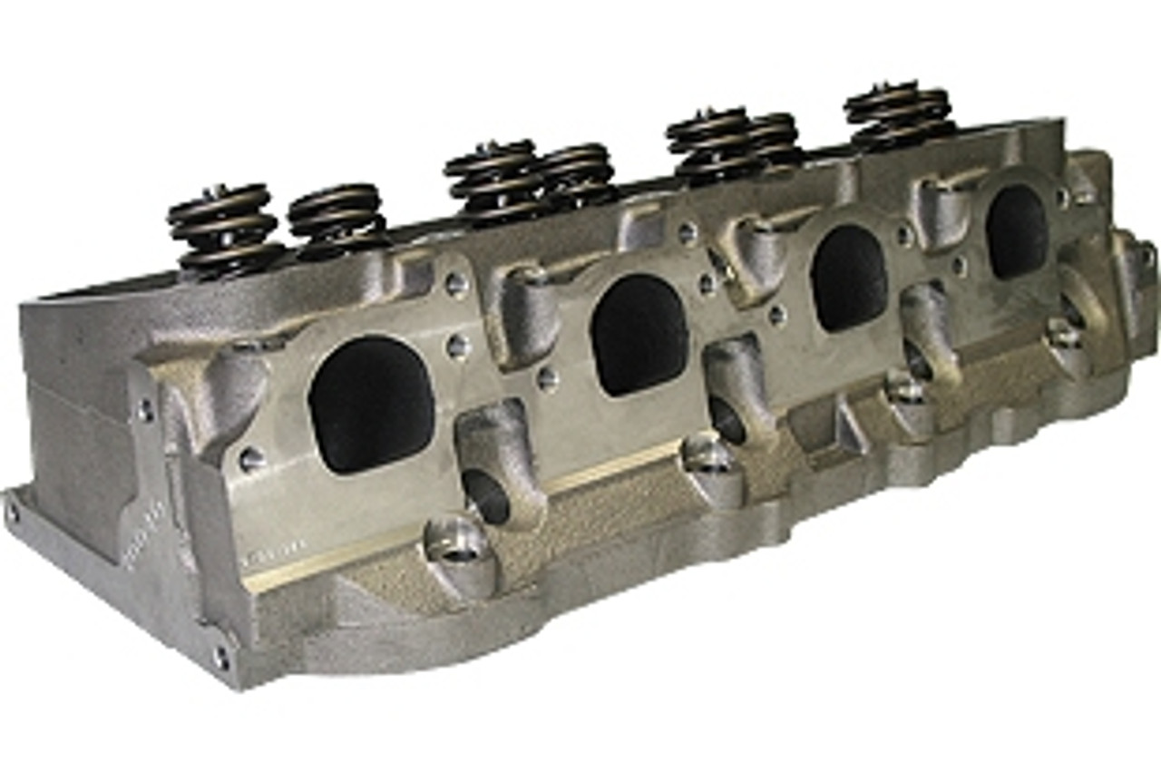 World Products 030620 - Cylinder Heads Cast Iron Chevy Big Block MERLIN  320cc Rectangle Port 320cc 119cc 26Degree 2 300