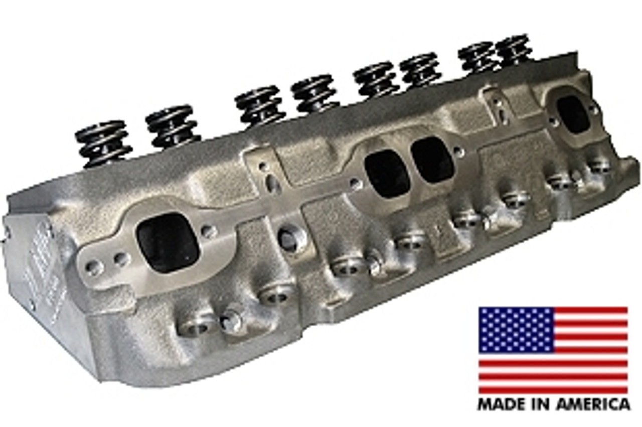 World Products 043600 - Cylinder Heads Cast Iron Chevy Small Block S/R  170cc 76cc 23Degree 1 940