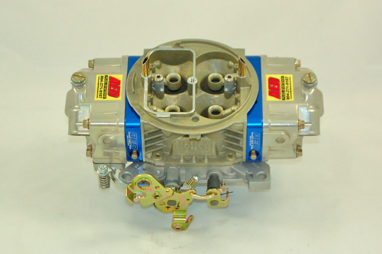 AED 850HO-A - 850CFM Blue Printed HO-Series Carburetor Std Booster Alcohol