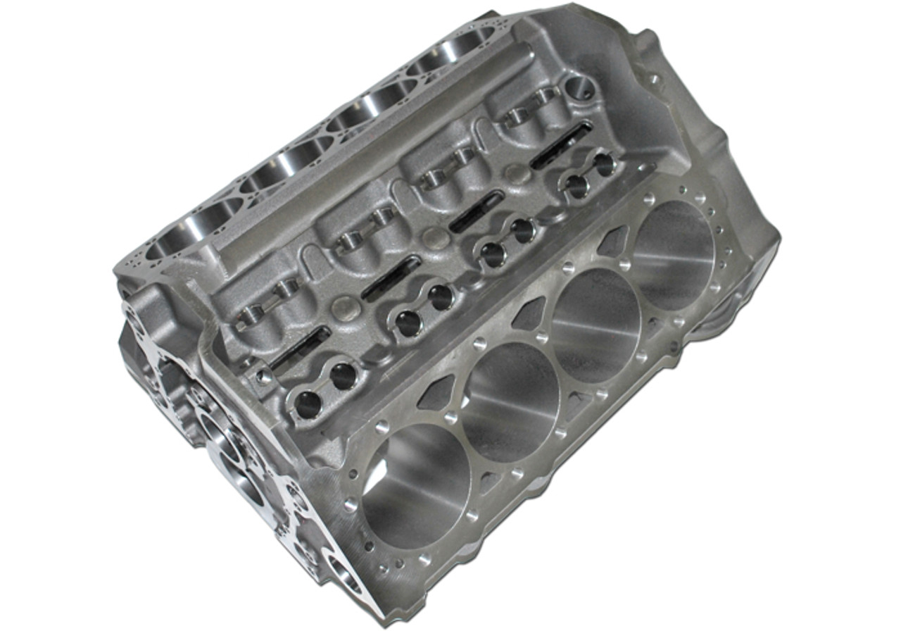 World Products 083020-BBC - Cast Iron Motown PRO LIGHTWEIGHT Engine Block  Chevy Small Block 350 Mains, 4 120 Bore, Nodular Caps (CLICK HERE/MORE INFO)