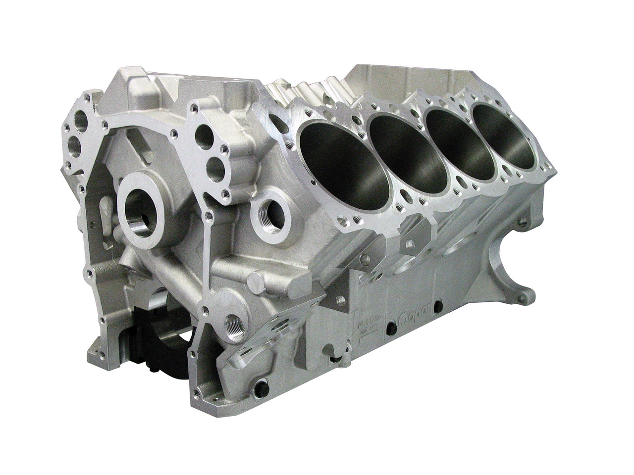 Bill Mitchell Products BMP 088550 - Aluminum Engine Block Wedge Block  10 720 Deck, 4 240 Bore, Billet Caps (CLICK HERE/MORE INFO)