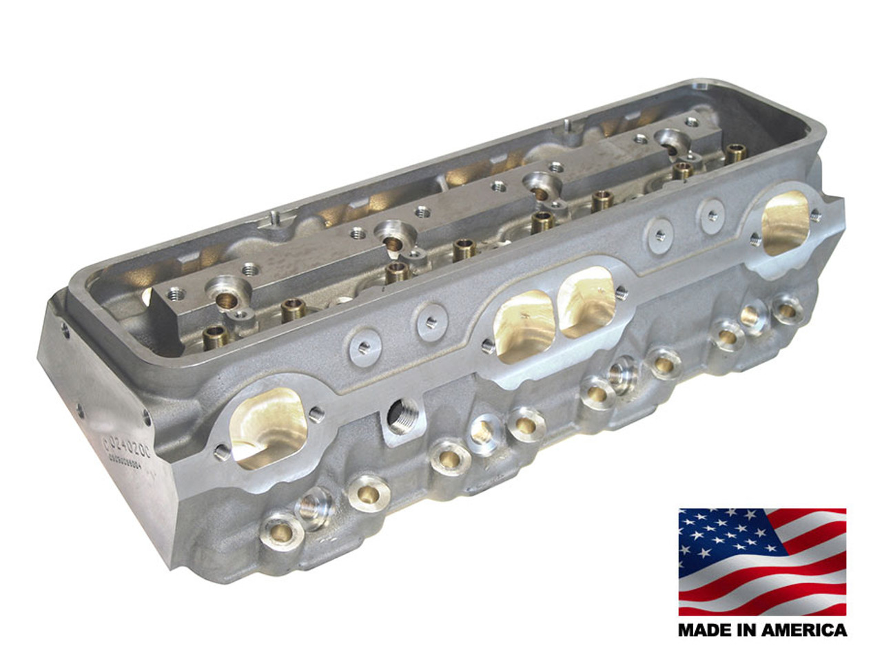 Bill Mitchell Products BMP 024020C - Cylinder Heads Aluminum Chevy Small  Block 255cc 64cc 23Degree 2 080