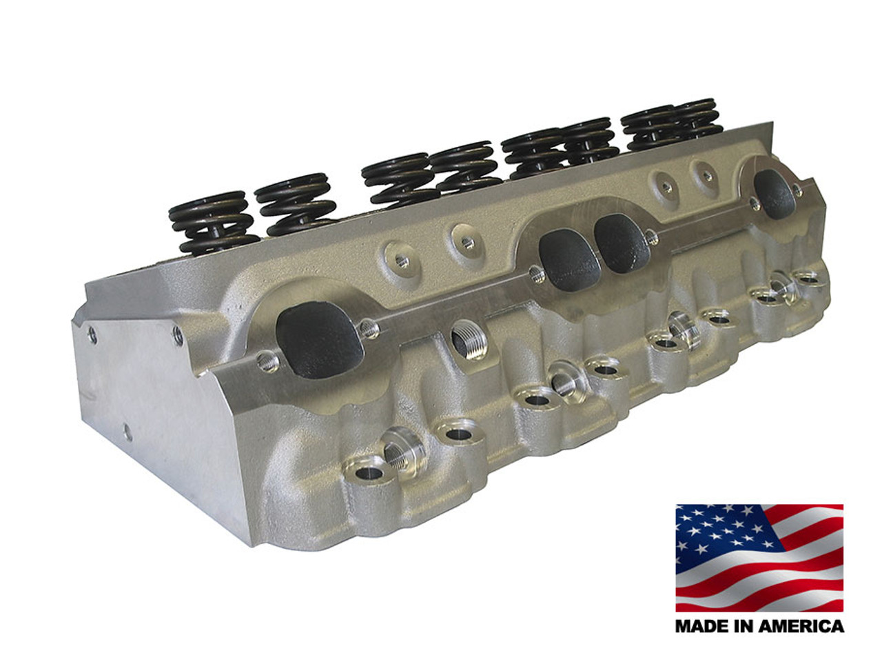 Bill Mitchell Products BMP 024015 - Cylinder Heads Aluminum Chevy Small  Block 215cc 64cc 23Degree 2 080