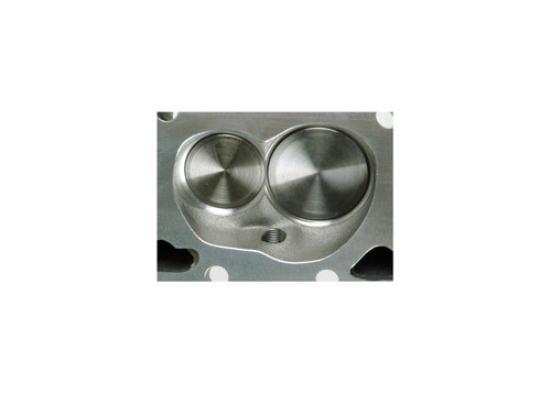 "Dart 127628 Cylinder Heads Aluminum Small Block Chevy SHP 220cc 72cc 2.080"" x 1.600"" Straight Plug, Assembly w/ 1.550"" Dual Springs for Solid Roller Cam Intake Port Chamber"