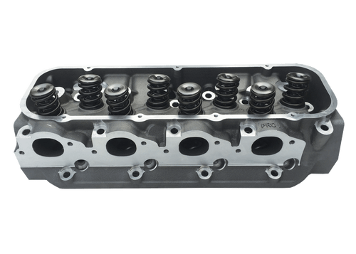 "Dart 19000171 Cylinder Heads Aluminum Big Block Chevy Pro1 275cc 2.190"" x 1.880"" Oval Port, Assembly w/ 1.550"" Single Springs for Hydraulic Flat Tappet Lifters"