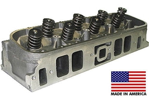 MERLIN Rectangular Port Big Block Chevy Iron Heads