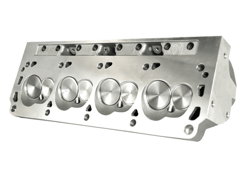 "Dart 13201113 Cylinder Heads Aluminum Small Block Ford Pro1 195cc 58cc 2.020"" x 1.600"", Assembly w/ 1.550"" Dual Springs for Solid Roller Cam"