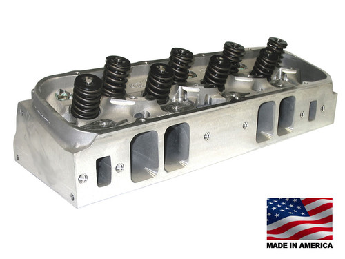 Bill Mitchell Products BMP Big Block Chevy 24 degree 350cc Aluminum Heads