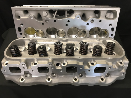 Bill Mitchell Products BMP Big Block Chevy 24 degree 350cc aluminum cylinder heads