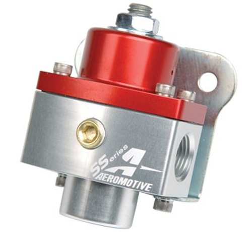 "Aeromotive SS-Series Carbureted Bypass Regulator 3/8"" NPT #13205"