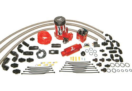 Aeromotive A2000 Carbureted Fuel System- Dual Carb. #17204