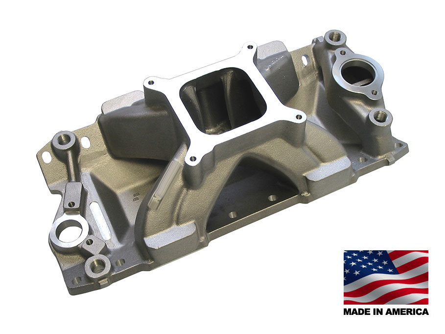 Bill Mitchell Products aluminum intake manifolds are dyno tested, race proven