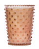 No. 59 Chestnut Hobnail Glass Candle