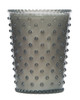 No. 83 Violet Hobnail Glass Candle