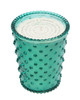 No. 91 Marine Hobnail Glass Candle