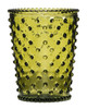 No. 25 Pear Empty Hobnail Glass