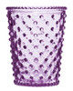 No. 58 Plum Empty Hobnail Glass
