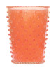 No. 71 Guava Hobnail Glass Candle