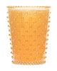 Orange Blossom Hobnail Glass Candle - No. 87