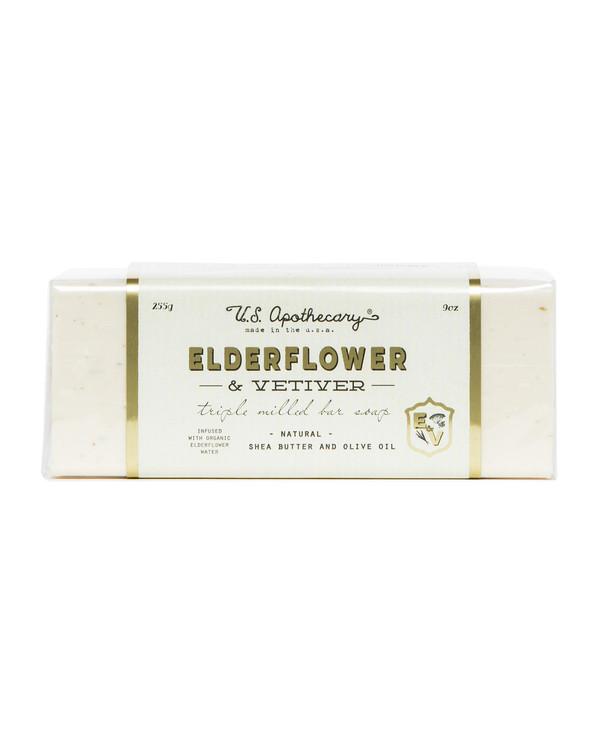 Elderflower & Vetiver Triple Milled Bar Soap