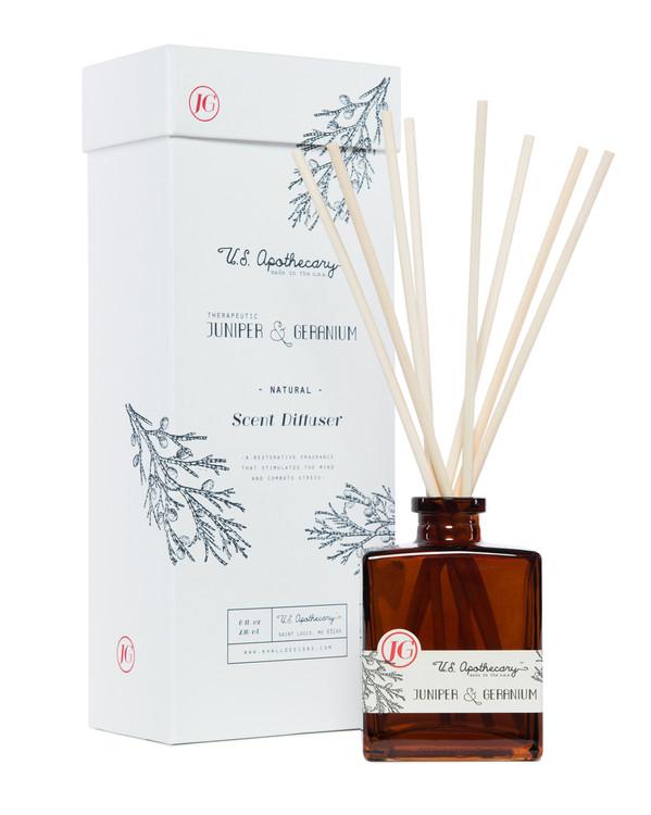 Juniper & Geranium Scent Diffuser Kit