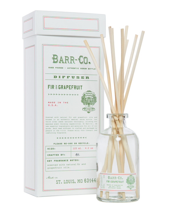 Fir & Grapefruit Scent Diffuser Kit