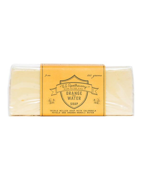 Orange Water Triple Milled Bar Soap