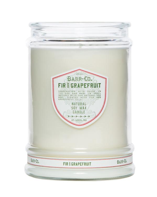 Fir & Grapefruit Glass Tumbler Candle