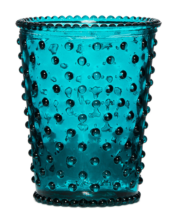 No. 14 Spanish Lime Empty Hobnail Glass