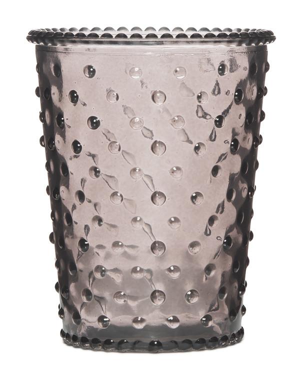 No. 83 Violet Empty Hobnail Glass