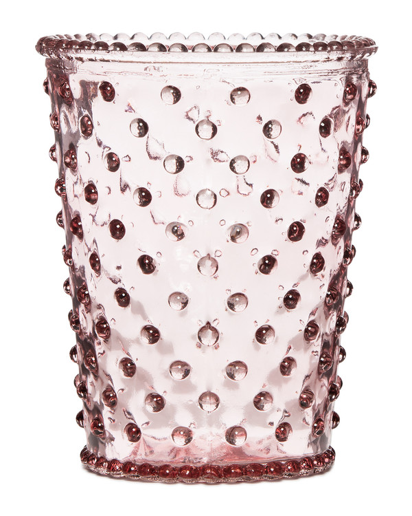 No. 92 Honeysuckle Empty Hobnail Glass