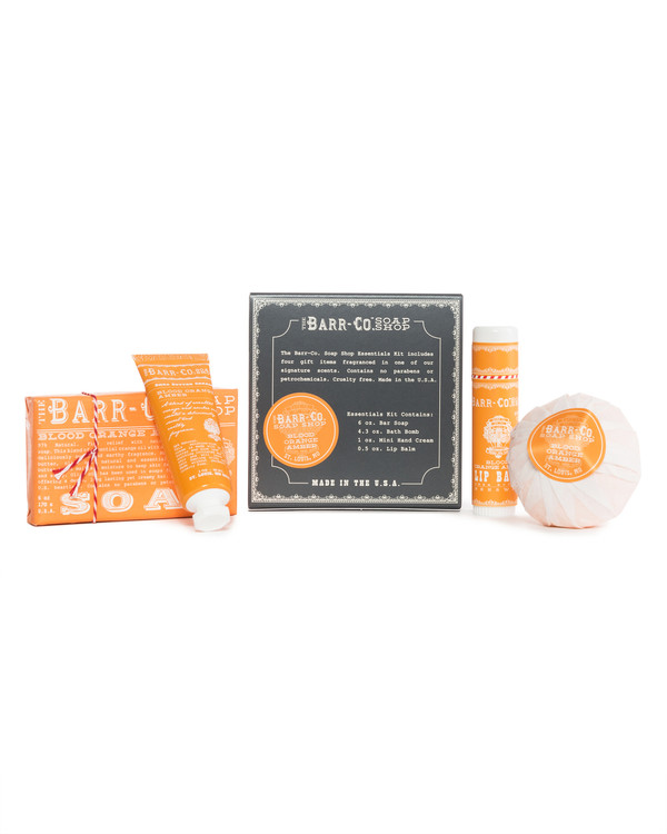 Blood Orange Amber Essentials Kit