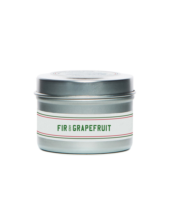 Fir & Grapefruit Travel Candle