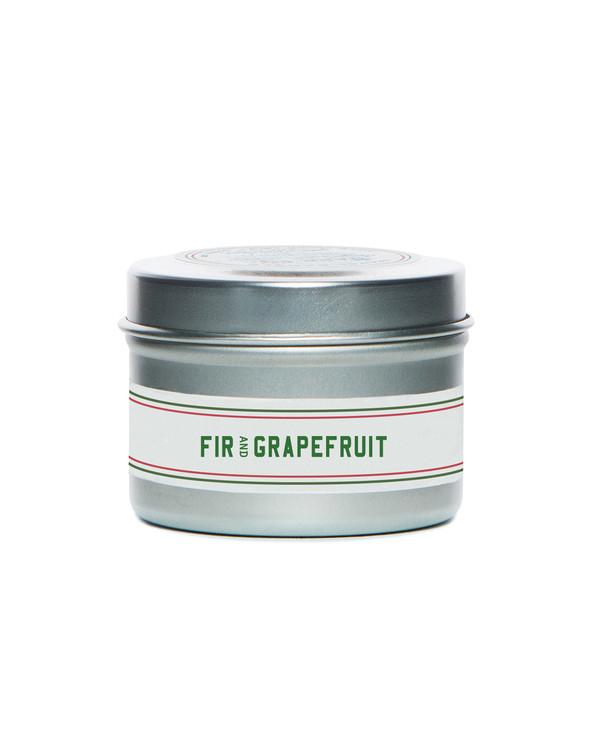 Fir & Grapefruit Travel Candle