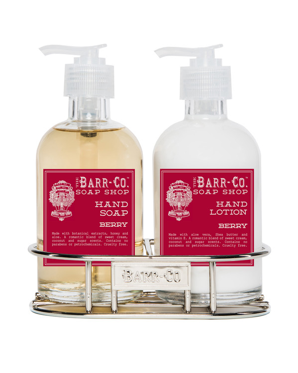 Berry Hand & Body Caddy Set