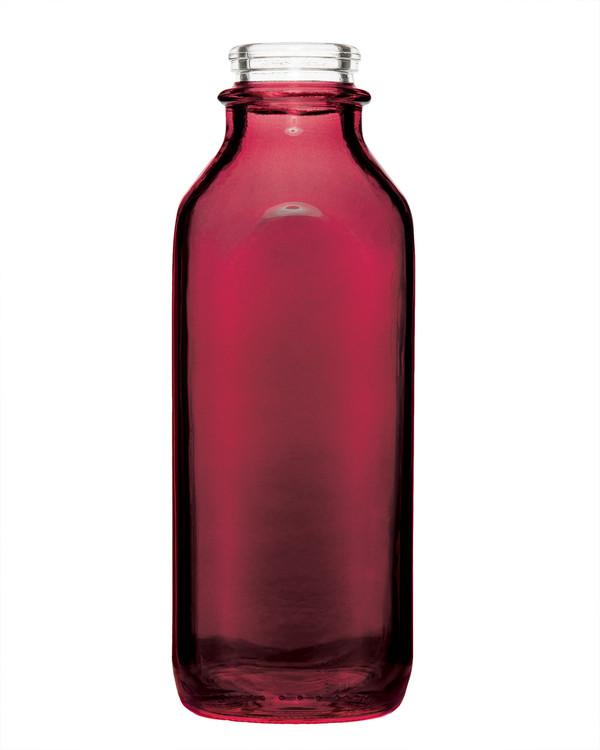 Berry Empty Colored Milk Jug
