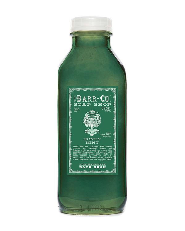 Honey Mint Bath Soak Salt