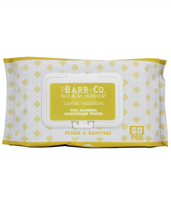 Lemon Verbena Sanitizing Wipes