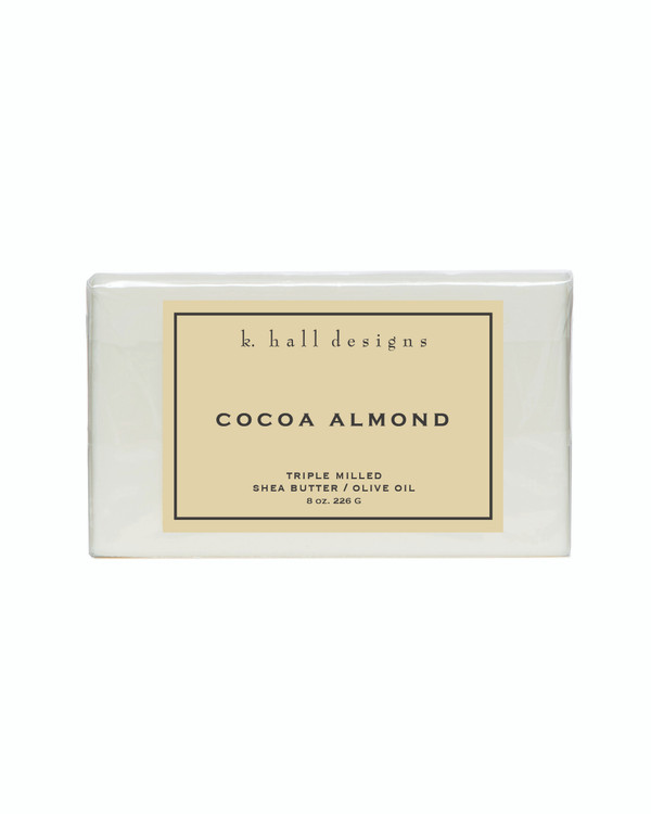 Cocoa Almond Triple Milled Bar Soap