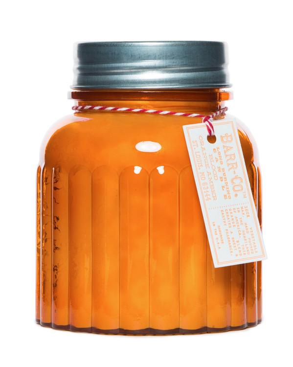 Blood Orange Amber Apothecary Jar Candle