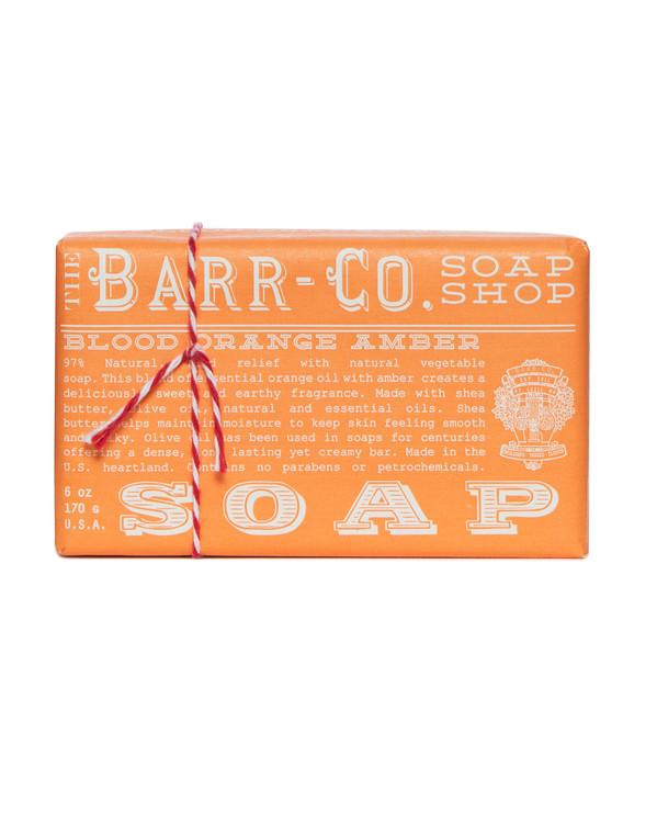Blood Orange Amber Triple Milled Bar Soap