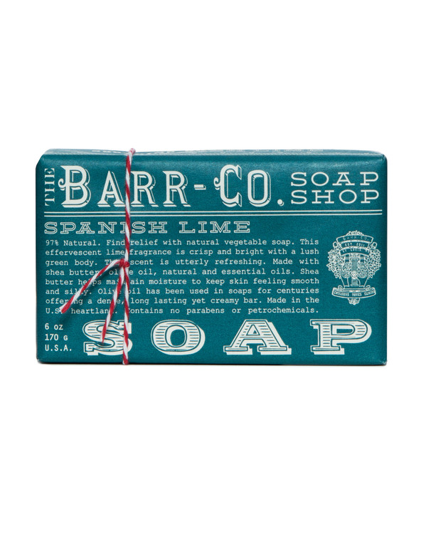 Spanish Lime Triple Milled Bar Soap