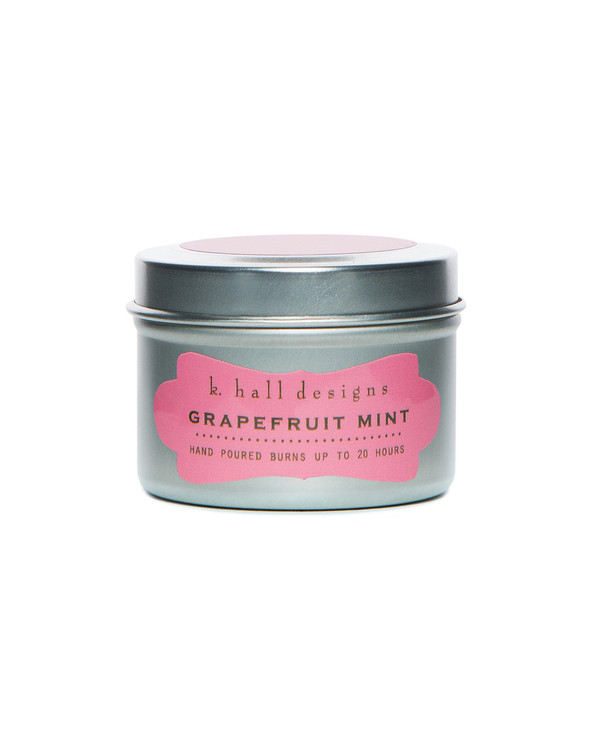 Grapefruit Mint Travel Candle