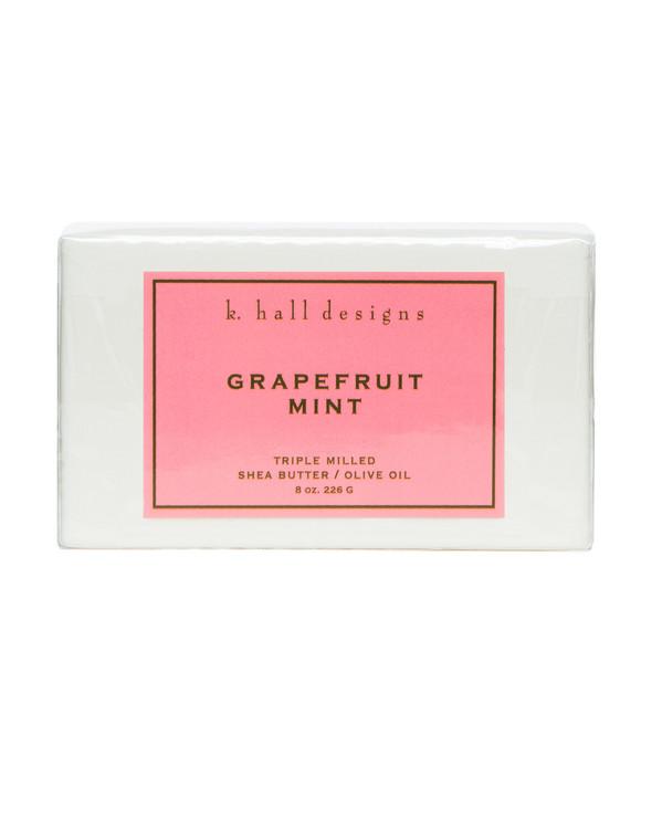 Grapefruit Mint Triple Milled Bar Soap