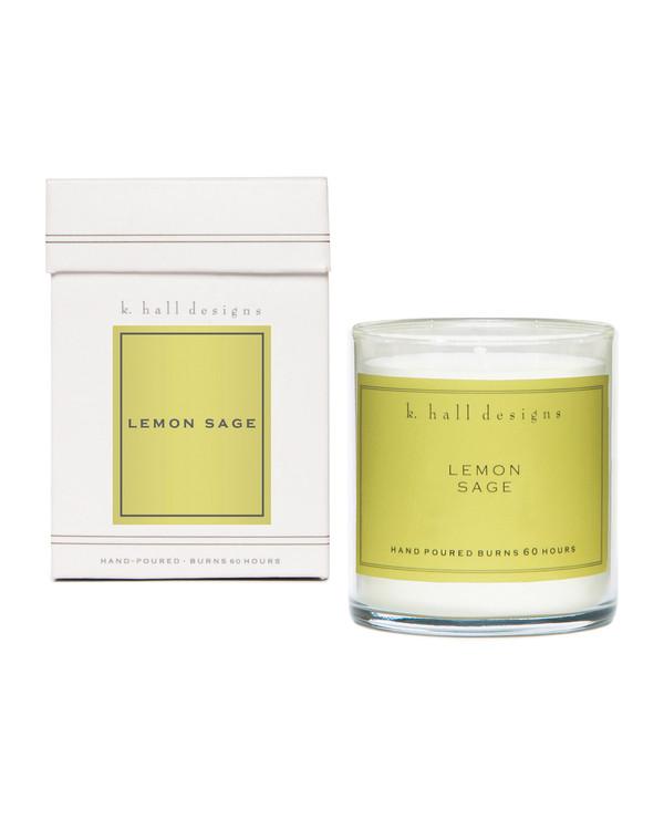 Lemon Sage Jar Candle