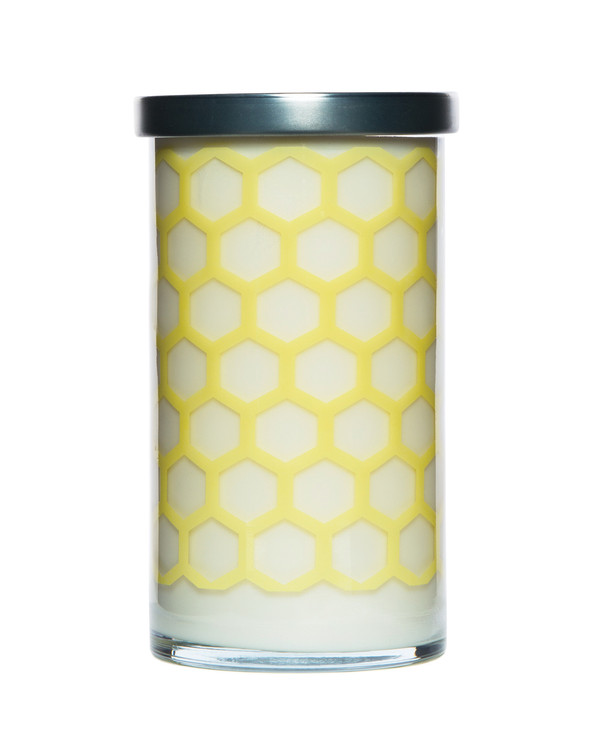 Lemon Sage Screen Print Candle