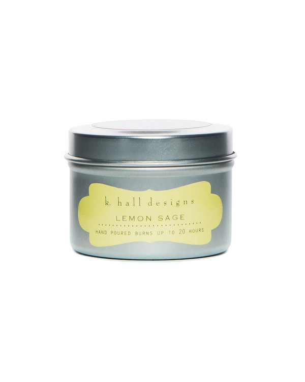 Lemon Sage Travel Candle